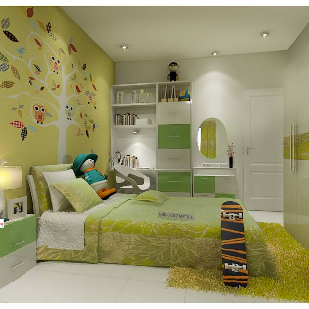 Neeras Kids Room : Nursery/kid's room by Neeras Design Studio