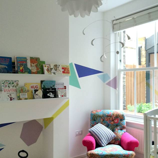 Venn Street Part 2 : Modern nursery/kids room by Proctor & Co. Architecture Ltd