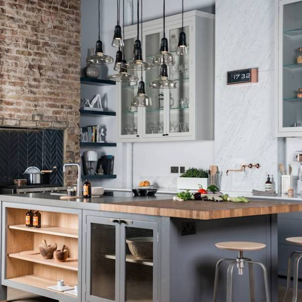 W9 | Eclectic Industrialism : Cucina in stile industriale di Davonport
