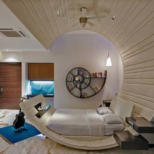 Modern bedroom by TAO Architecture Pvt. Ltd.