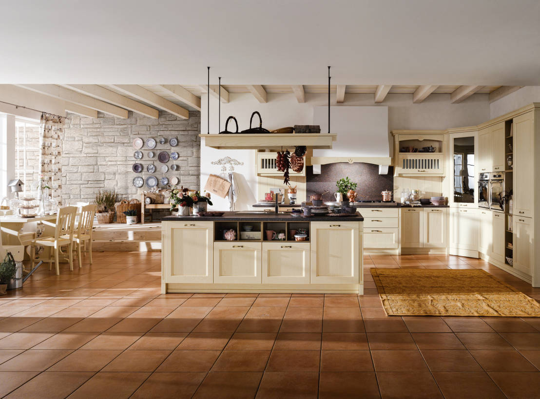 Le cucine country chic e larredo