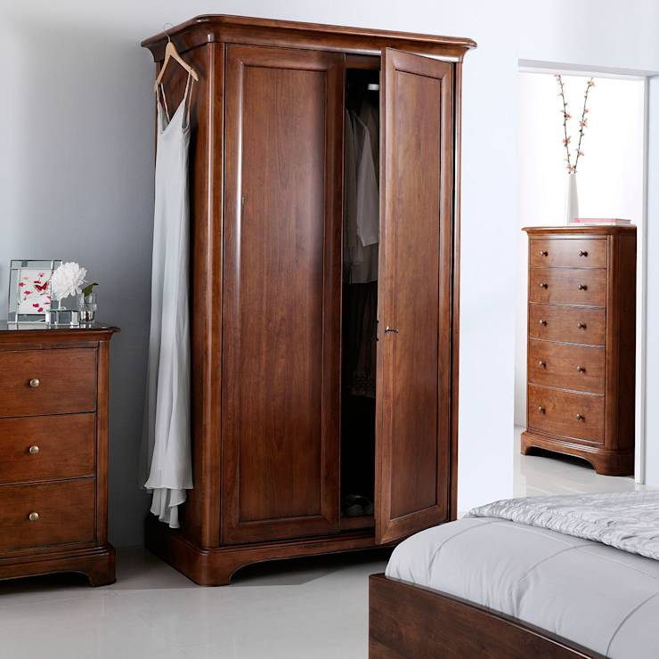 Quarto Campestre por CROWN FRENCH FURNITURE
