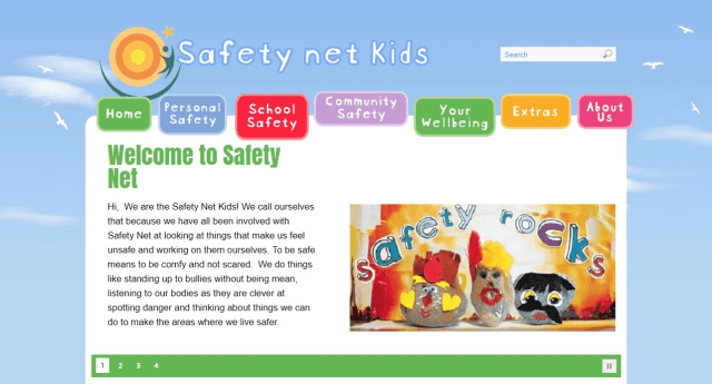 Safety Net Kids is a wonderful resource to get informed.