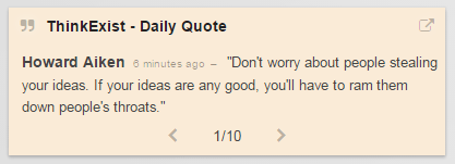 ThinkExist - Daily Quote