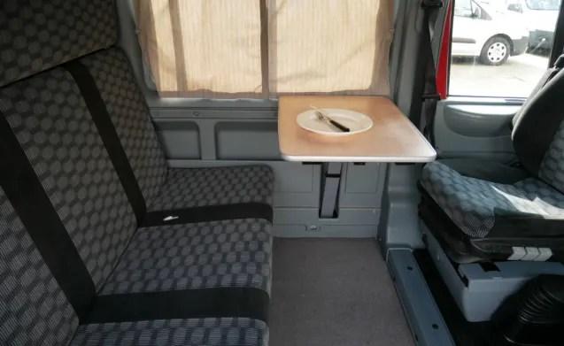 Ford Nugget Buscamper met luifel 5 persoons  4