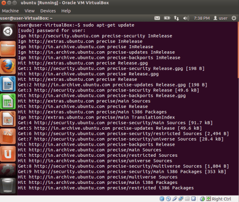 Update Ubuntu