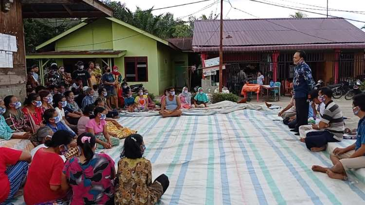 Tumpak Siregar SH MH (TPS) Silaturahmi dengan Warga Nagori Baliju, Kecamatan Tanah Jawa, Kabupaten Simalungun