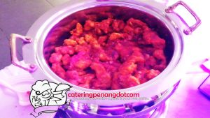 Dinner Event for a Birthday Party Sweet Sour Fish