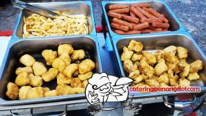 Dinner Event for a Birthday Party Assorted Deep Fried Delights