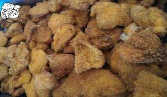 Dinner at Armenian Hotel Crispy Boneless Chicken