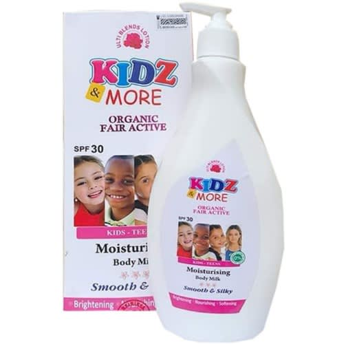 Kids & Teens Kidz & More Organic Fair Active Moistursing Body Milk