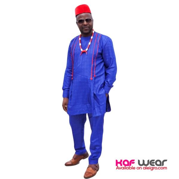 Aleigro men senator wear blue Size M, XL, XXL