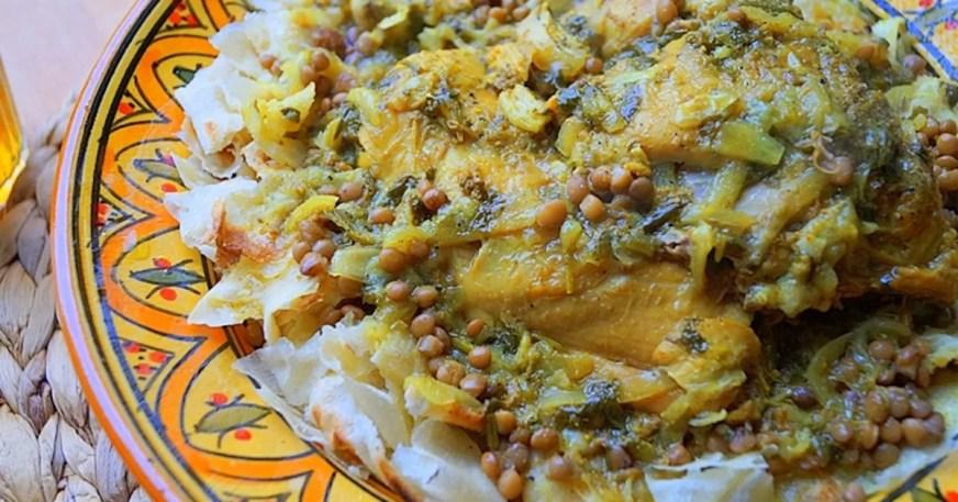 Rfissa au poulet marocaine - Recette par auxdelicesdupalais