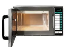 1500w commercial microwave stainless steel