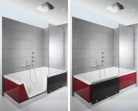 Badewanne mit dusche und tr preis  Eckventil waschmaschine