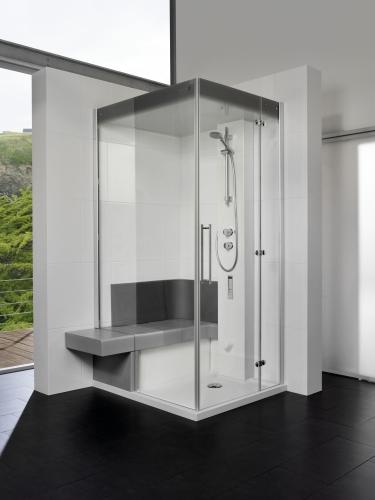 Mit der richtigen Glaswand Dusche  Bad aufwerten