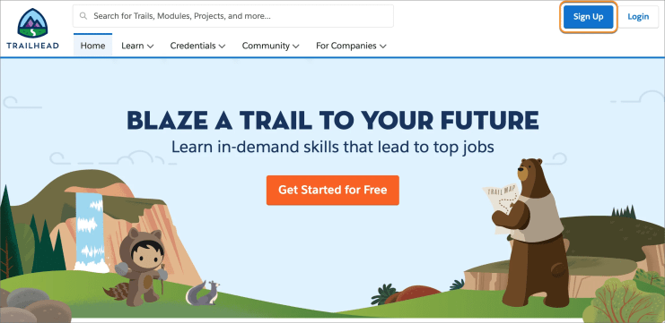 Who is Trailhead for