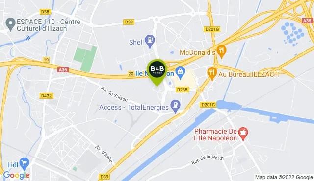 b b hotel a mulhouse ile napoleon