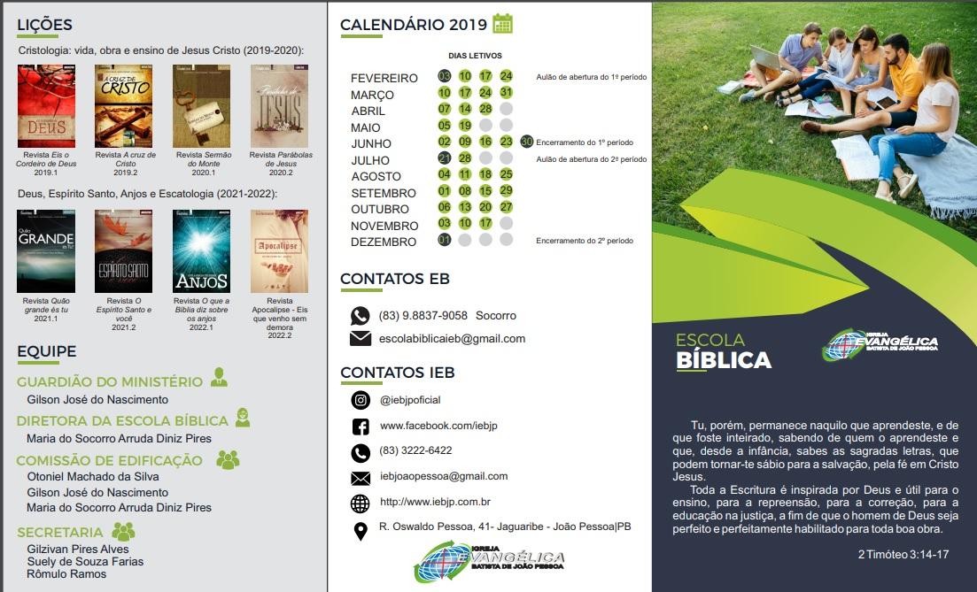 Escola Bíblica 12