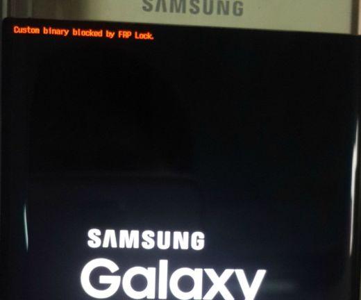 Custom Binary Blocked by FRP Samsung Galaxy J1 SM-J120G