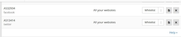 Cara Whitelist ASN Facebook ke Cloudflare Firewall