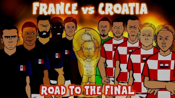 Prancis vs Kroasia - Pertandingan Final Piala Dunia 2018