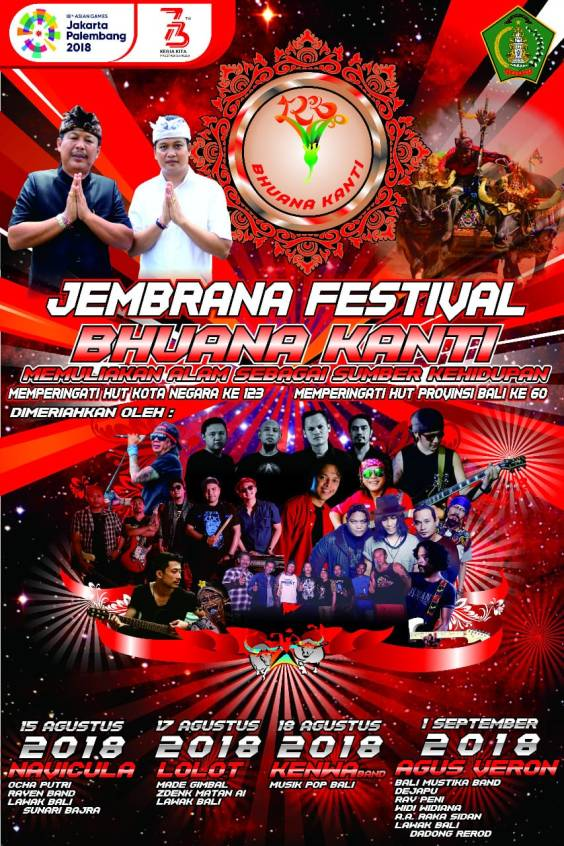 Jembrana Festival Bhuana Kanti