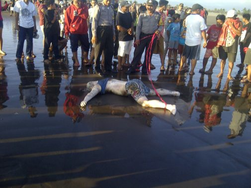 Mayat yang Terdampar di Pantai Delod Berawah