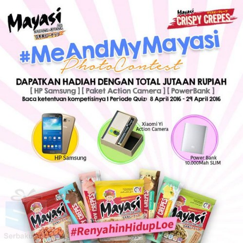 Mayasi Kontes Foto Berhadiah Hp Samsung, Xiaomi Yi Action Cam, Power Bank