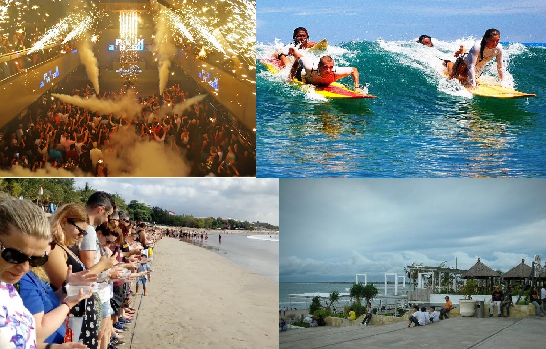 4 Kegiatan yang Harus Dilakukan di Kuta Bali
