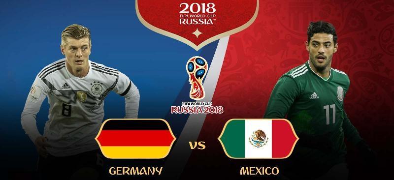 Jerman vs Meksiko Piala Dunia 2018