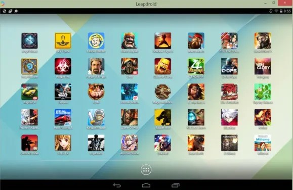LeapDroid Emulator android