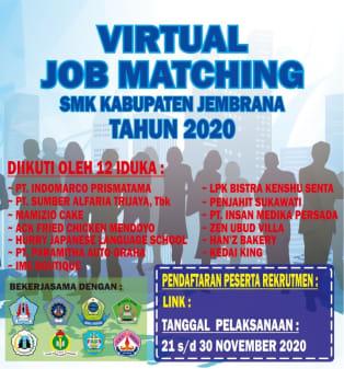 VIRTUAL JOB MATCHING 2020