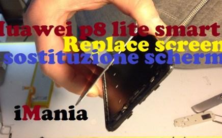 huawei p8 lite smart sostituzione vetro assistenza varese imania