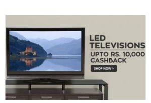 Televisions Extra 22% cashback