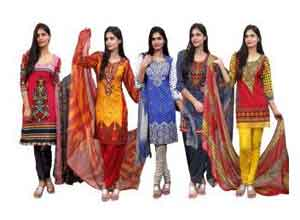 Zoha Collection Of 5 Dress Material