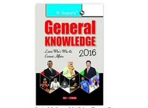 Buy General Knowledge 2016: Latest Who's Who & Current Affairs
