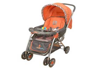 Sunbaby Maxima Stripe Stroller
