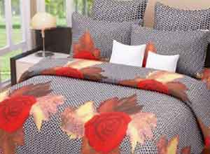 Home Candy Bedsheets Curtain set