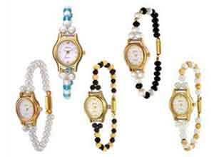 Oleva Set Of 5 Pearl Watches