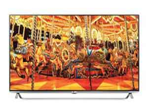 LG 139.7 cm (55) 3D Smart 4K Ultra HD LED TV