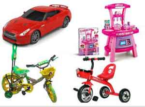 Toys & Games at Extra 90% Cash Back