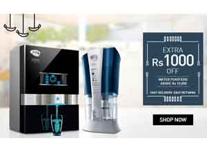 Water Purifiers up to 25% Off