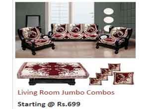 Living room Jumbo Combos upto 55% Off