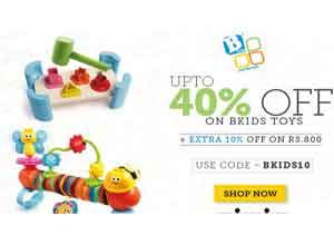 B-kids Toys Flat 40% Off