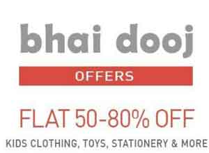 Kids Clothings & Accessories Upto 80% OFF