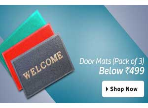 Door Mats Pack of 3