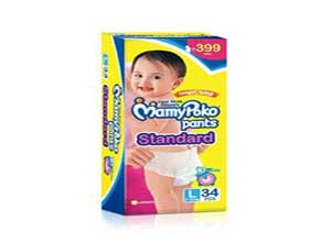 Mamy Poko Pants Standard Pant Style Large Size Diapers