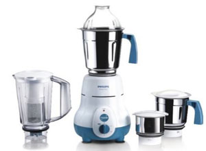 Philips HL1645 750-Watt 4 Jar Super Silent Vertical Mixer Grinder
