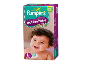 Pampers Active Baby Large Size Diaper